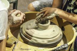 Irene @ potter's wheel